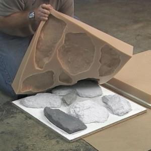 виды популярных силиконовых форм для камня
