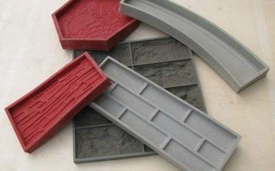 силиконовая форма для камня