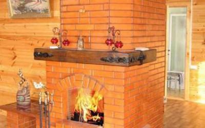 печка-камин преимущества