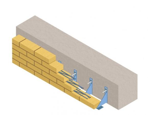 навесные кирпичные стены