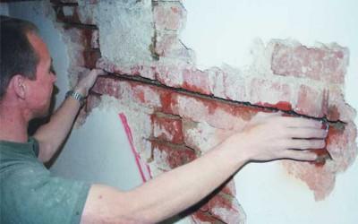 реставрация старой кладки
