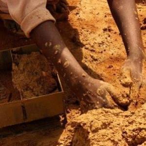 глина для изготовления кирпича