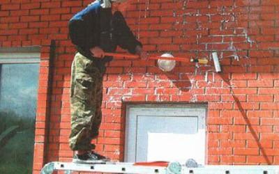 обработка стен антисолевым раствором