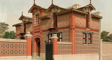 пример строения с орнаментальным рисунком