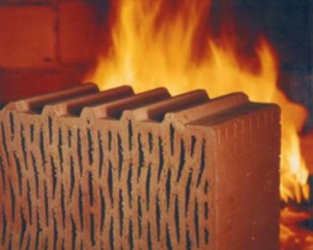 огнестойкость кирпича