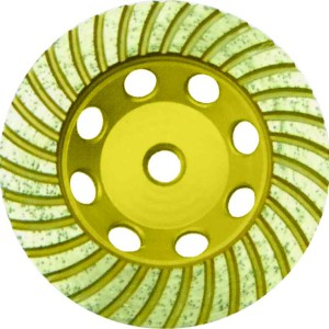 сегментная кромка круга болгарки