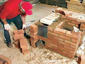 кирпич для строительства камина