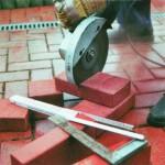 Как и чем разрезать кирпич
