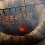 Мангал барбекю своими руками из кирпича
