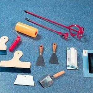 инструменты для окраски печи