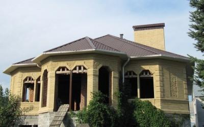 дом из желтого кирпича