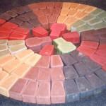 Покраска силикатного кирпича