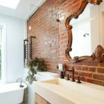 интерьерное решение в ванной
