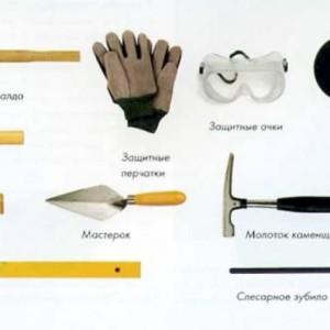 инструменты для выкладки мангала