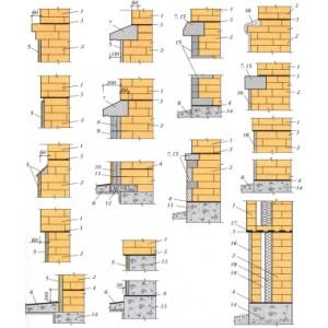 схема выкладки цоколя