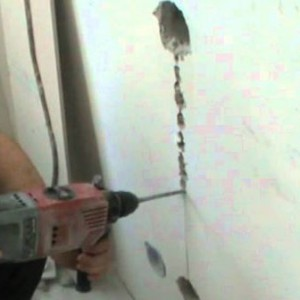 штробление стены под проводку