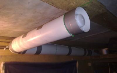 монтаж гаражной вентиляции