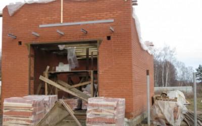 Фото кладки стен гаража