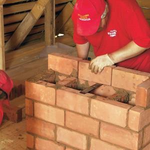 строим дымоход своими руками
