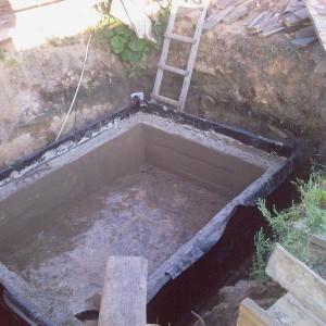 фундамент погреба фото