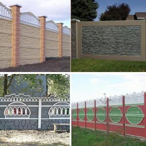Дизайн декоративных бетонных ограждений отличается разнообразием