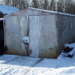 капитальный металлический гараж