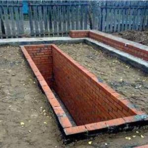обустраиваем фундамент и смотровую яму капитального гаража