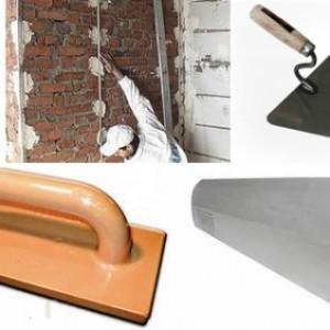 Необходимые инструменты для оштукатуривания печи