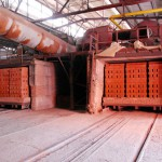 Тоннельная печь для обжига кирпича