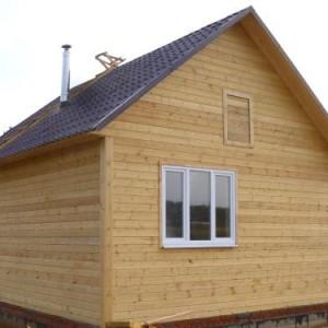 бюджетный вариант дома 6x6