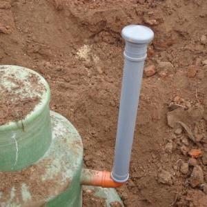 вентиляционная труба для септика