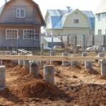 Выбор фундамента для строительства каркасного дома