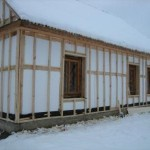 Технология утепления каркасного дома пенопластом