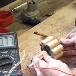 Перепайка и ремонт аккумулятора шуруповерта своими руками
